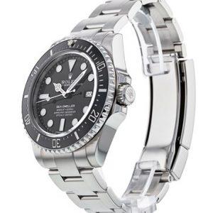 Rolex Sea-Dweller 116600 Reloj para hombre de 40 mm con esfera negra