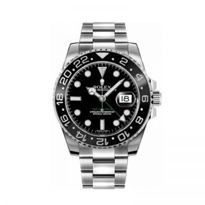 Rolex GMT-Master II 116710LN Reloj de acero negro para hombre de 40 mm