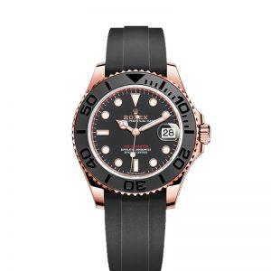 Rolex Yacht-Master 268655 Reloj unisex de 37 mm con esfera negra